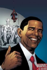 Amazing Spider-man #583 Barack Obama Lincoln Variant 5th Fifth Print (2009) Marvel comic book